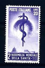 ITALIA REP. - 1949 - II° Assemblea dell'Organizzazione Mondiale Sanità Michel780