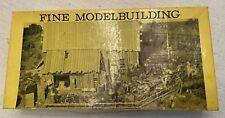 HO Fine Scale Miniatures Logging Repair Shed Model Building Kit