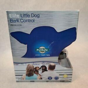 PetSafe Elite Little Dog Bark Control Collar PBC00-12726 - New Sealed In Box