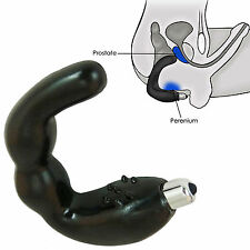 G spot prostatic massage instrument anal stimulate prostate massager for men blk