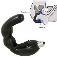 G spot prostatic massage instrument anal stimulate prostate massager for men blk