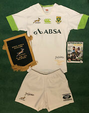 South Africa Rugby Jersey Match Worn