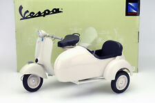 PIAGGIO VESPA 150 VL 1t con sidecar anno di costruzione 1955 CREMA 1:6 NEWRAY
