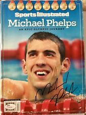 Michael Phelps Signed Autograph Special Commemorative Sports Illustrated JSA