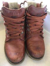 Caterpillar Light Brown leather boots size 3 EU 36