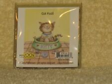 Gary Patterson Cat In Food Bowl Micro Fiber Cloth