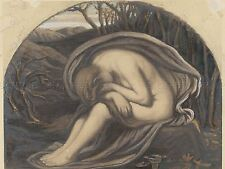 ELIHU VEDDER AMERICAN MAGDALENE OLD ART PAINTING POSTER PRINT BB5251A