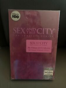 Sex and the City The Complete Series Ultimate DVD Collection New Sealed