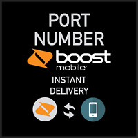BOOST Mobile Prepaid Phone Numbers To | For PORT | DISCOUNTS | FAST DELIVERY