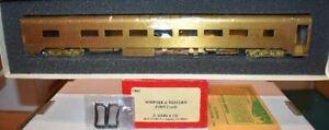 Norfolk & Western N&W 1009 Coach Soho Brass HO UP (1902)  S22.5