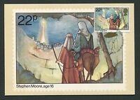 GB UK MK 1981 CHRISTMAS WEIHNACHTEN MAXIMUMKARTE CARTE MAXIMUM CARD MC CM d424