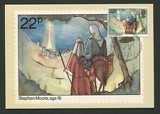 GB UK MK 1981 CHRISTMAS WEIHNACHTEN MAXIMUMKARTE CARTE MAXIMUM CARD MC CM d424