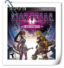 PS3 Star Ocean The Last Hope International SONY Square Enix RPG Games