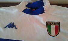 MAGLIA SHIRT VINTAGE KAPPA ITALIA NAZIONALE ITALIANA CALCIO FOOTBALL AWAY XXL