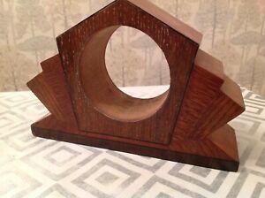 Antique Clock Case Deco Inlaid Decoration 23x15x7cm Ap. 94mm Repair Refinishing