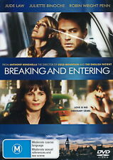 Breaking And Entering - Drama / Thriller / Sex Scene - Jude Law - NEW DVD