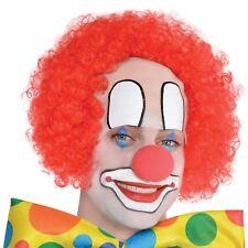 Hombre circo Baldy El Payaso Rojo Peluca Carnaval Fiesta Accesorios Disfraces