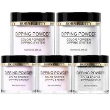 5 Boxes/Set 10ml BORN PRETTY Clear Dipping Powder Nail Art Natural Dry French