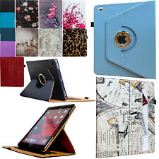 For 2012 iPad 3 360 Rotating Smart Case Cover Stand With Pocket and Pen Holder