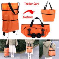 Veranstalter Faltbarer Einkaufsbeutel Tasche Tasche für Räder Cart de Trolley