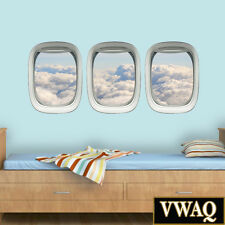 Aviation Decals Airplane Window Clings Plane Window Stickers Wall Art VWAQ-PPW13