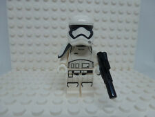 Lego Minifig: First Order Stormtrooper Squad Leader (Round Mouth Pattern - sw872
