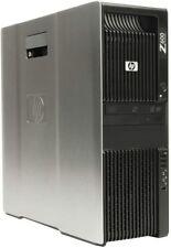 HP Z600 WORKSTATION 12 CORE DUAL SIX XEON X5660 24GB RAM 500GB HD VIDEO EDITING