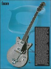 The Gretsch 1962 Silver Duo-Jet vintage guitar article 8 x 11 pin-up photo print