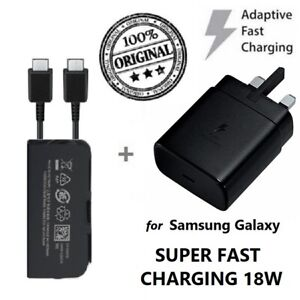 SUPER FAST CHARGER WALL PLUG TYPE C CHARGING CABLE FOR SAMSUNG GALAXY S20 ULTRA