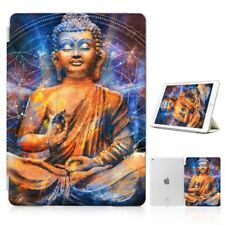 ( For iPad 2 3 4 ) Front Back Case Cover PB40137 Buddha