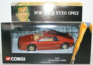 CORGI 04701 JAMES BOND 007 LOTUS ESPRIT TURBO EYES ONLY