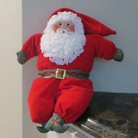 Alcon Inc California Plush Santa Stuffed Toy Doll Christmas