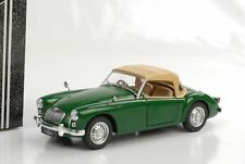 1 18 Triple 9 MG a Mk1 with Softtop 1959 Green/creme