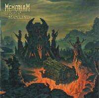 MEMORIAM - REQUIEM FOR MANKIND (2019) British Death Metal CD +FREE GIFT