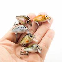 6cm 15g Mini Wobbler Fishing Lure Artificial Hard Bait Crankbait for Fish W0M4