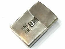 """Rare! ZIPPO Limited Edition """"Sterling Silver Purity 999.9 Ingot"""" Lighter 043/500"""