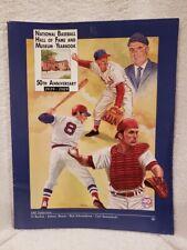 1989 National Baseball Hall of Fame Yearbook, Johnny Bench, Carl Yastrzemski!