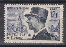 France année 1954 Maréchal de Lattre de Tassigny N° 982** lot 3809
