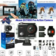 AKASO EK7000 Pro 4K Action Camera Cam Touch Screen Wifi Sports DV Camcorder