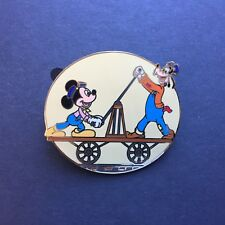 Disney Auctions P.I.N.S. Mickey Mouse & Goofy Handcart LE 250 Disney Pin 33799