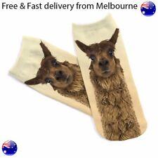 Novelty Socks -  Alpaca Low Cut Socks