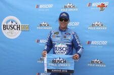 NASCAR SUPERSTAR KEVIN HARVICK WINS KANSAS  8X10 PHOTO W/BORDERS