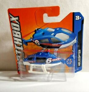 MATCHBOX MBX CITY DIECAST HELICOPTER - MATCHBOX NEWS NETWORK - FACTORY SEALED