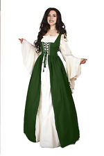Renaissance Medieval Irish Costume Hunter Over Dress ONLY Fitted Bodice s/m