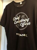 """Nutanix CEO T-shirt - """"Chief Everything Officer"""" - XL"""