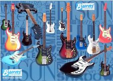 BURNS GUITARS JIGSAW PUZZLE - 1000 PIECE  - BRAND NEW - GREAT CHRISTMAS GIFT