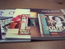 Scrapbooking and Crafting Idea Books - Set of 4
