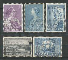 Nederland  265 - 269 gebruikt (7)