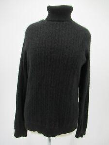 L7674 VTG Bloomingdale's 100% Cashmere Turtleneck Long-Sleeve Sweater Size 2X