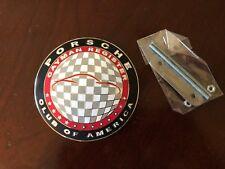 Official Porsche PCA Car Club of America Cayman Grill Badge Emblem Hood Ornament